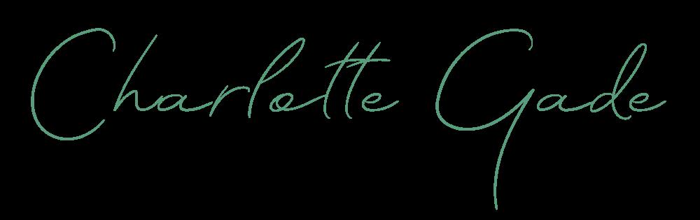 Charlotte Gade underskrift